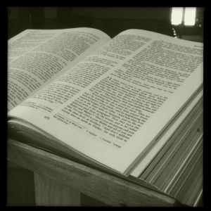 Scripture in Church
