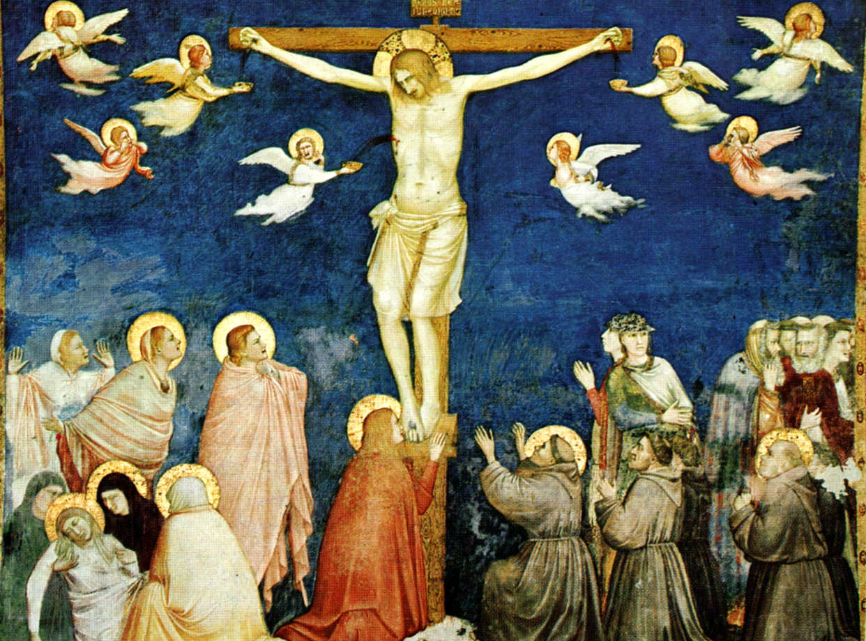"""""""Crucifixion"""" by Giotto Assisi"""